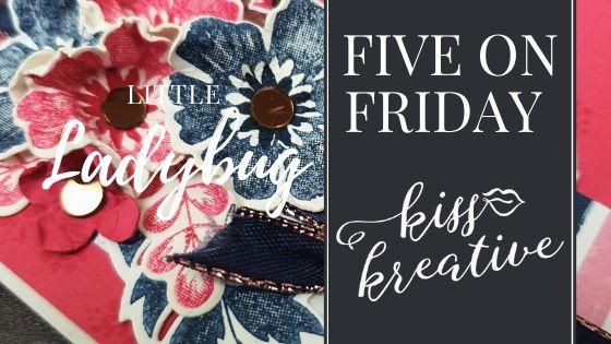 Five ways Friday – Little Ladybug