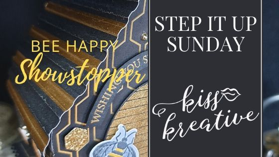 Step it up Sunday – Bee Happy Show Stopper