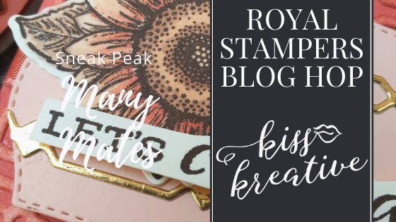 Royal Stampers Blog Hop – Monochrome Many Mates