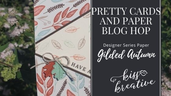Gilded Autumn – Pretty Cards & Paper Blog Hop