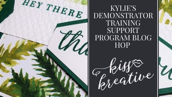 Kylie's Demonstrator Training Support Program Blog Hop October 2020 – Easy cards using Beautiful Autumn