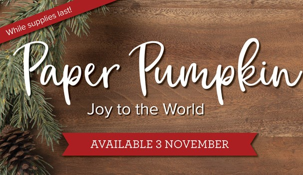 New Joy to the World from Paper Pumpkin