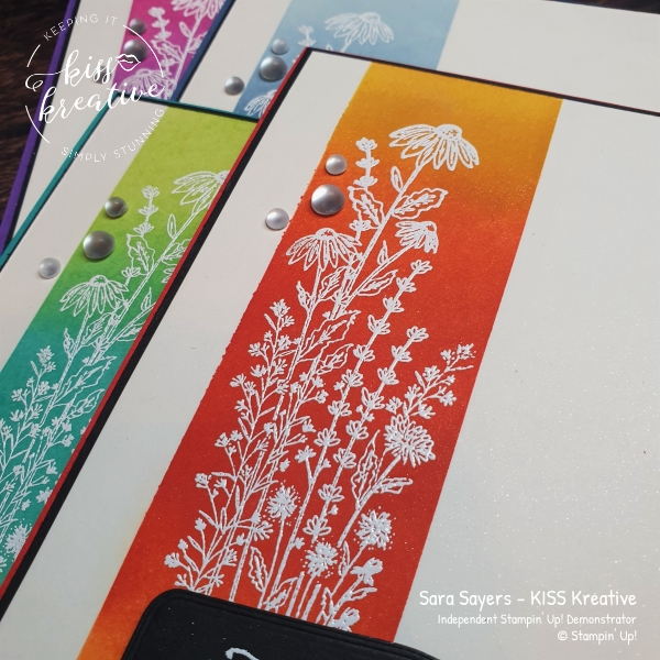 NEW sneak peak of the gorgeous Dragonfly Garden Stamp set from Stampin Up