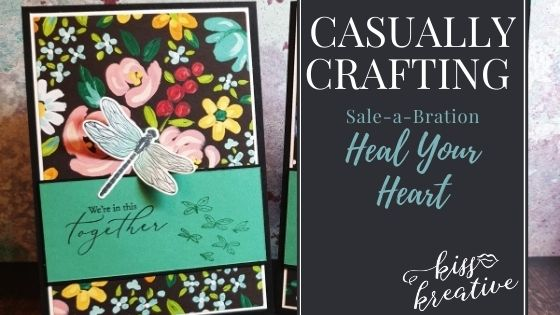 Casually Crafting Blog Hop – I love Sale a Bration with Heal your Heart