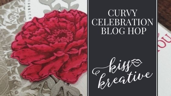 Curvy Celebrations Blog Hop – Easy Colouring On Card