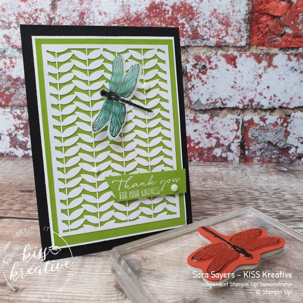 Easy simple cards using the Dandy Laser cut papers from Stampin Up