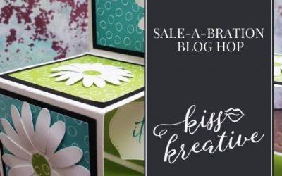 Triple Pop-Up Cube Card – Sale-a-bration Blog Hop