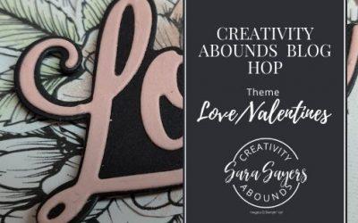 Love You Always Treat Bag – Creativity Abounds Blog Hop