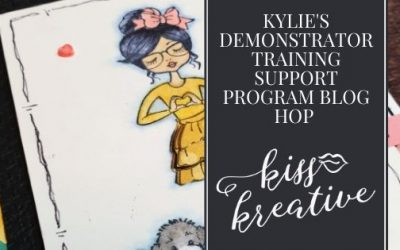 Hey Girlfriend Thank You Cards With Kylie's Demonstrator Blog Hop January 2021